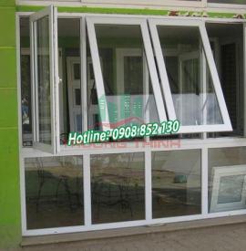 Cửa nhôm - cửa nhôm kính cường lực